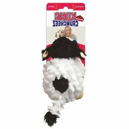 Kong Barnyard Cruncheez Plush Cow Dog Toy - Large