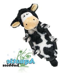 Kong Barnyard Knots Cow Small Squeaks Fun Interactive Play T