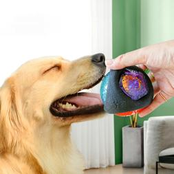 BE_ Funny Pet Dog LED Light Ball Play Interactive Toy Make B
