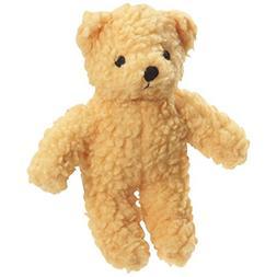 Zanies Berber Bear Dog Toys, Yellow