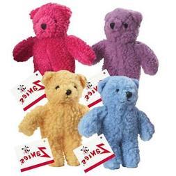 Zanies Berber Bear Dog Toys, Red
