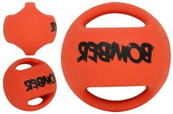 "ZEUS Bomber Ball Dog Toy 4.5"" - Throw Fetch Tug Kick Floats"