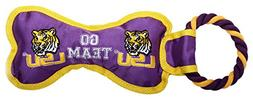 Pet Goods Manufacturing BONERP-059 NCAA LSU Tigers Bone with
