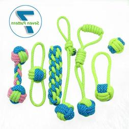 Braided Rope Derable Dog Toys for Aggressive Chewers Interac