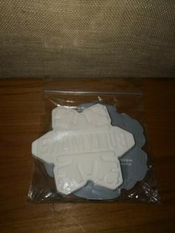 Brand New Bullymake Snowflake Dog Chew Toy Large For Aggress