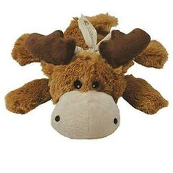 2-Pack Medium Brown Cozie Marvin the Moose Dog Toy by KONG