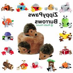 ZippyPaws Burrow Dog Toy, Hide and Seek Plush Dog Toy - FAST
