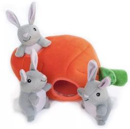 *ZippyPaws* Burrow Hide&Seek Plush Dog Toy Great Small Pet H