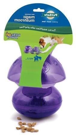 PetSafe Busy Buddy Magic Mushroom Meal-Dispensing Dog Toy, U
