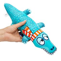 Canvas Crocodile Resistance to Dogs Chew and Squeaky Toys fo