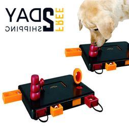 Cat Dog Flip Board Activity Toy Interactive Treat Brain Puzz