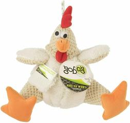 goDog Checkers Fat Rooster With Chew Guard Technology Tough