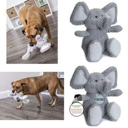 Godog Checkers With Chew Guard Technology Durable Plush Dog
