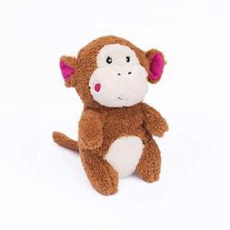 ZippyPaws Cheeky Chumz Super Soft Squeaker Plush Dog Toy wit