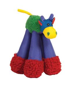 Boss Pet Chomper Doggy Long Legs Squeaking Toy for Pets, Ass