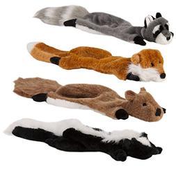 Boss Pet Chomper Natural Flatty's Wildlife Creatures Dog Toy