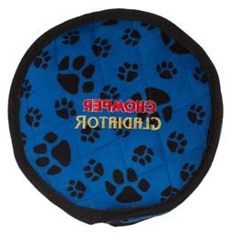 Boss Pet Chomper Gladiator Tuff Frisbee Toy for Pets, Assort