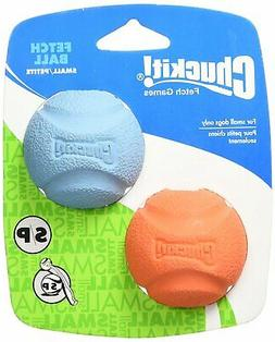 """Chuckit 519200 2"""" Small Chuckit! Ball Assorted Colors 2 Pack"""