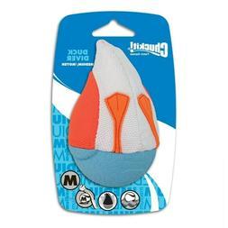 CHUCKIT! Amphibious Duck Diver - Medium - Orange