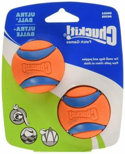 "Chuckit Small Ultra Ball 2"" 2-Pack Pet Easy To Clean Canine"