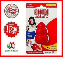 KONG Classic Red Rubber Dog Toy Small - Red, Free&Fast Shipp
