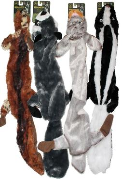 """4-PACK CLEARANCE!!  4-PACK XL 28"""" Stuffing Free Squeaker Dog"""
