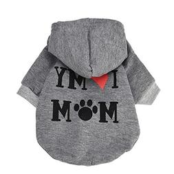 Clearance Sale! Puppy Clothes WEUIE Small Pet Dog Clothes Fa