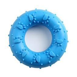 Colorful Flexible Rubber Donut Shaped Pet Dog Puppy Toy