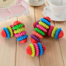 Colorful Pet Dog Toy Puppy Dental Teething Healthy Teeth Gum