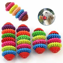 Colorful Rubber Pet Dog Puppy Dental Teething Healthy Teeth