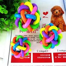 QINF New Medium Colorful Twisted Rainbow Belt Toy Ball with