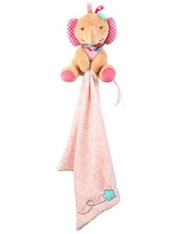 Aipinqi Baby Comfort Towel Doll Plush Elephant Security Blan