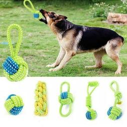 Cotton Rope ball Pet Supplies Dog Toy Knot Puppy Chew Teethi