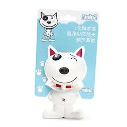 QINF Limited Edition Cow Shape Natural Latex Dog Toy