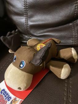 Kong Cozie Ultra Max Moose Medium Dog Toy 8''