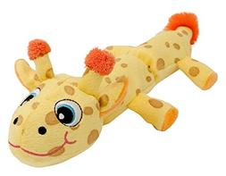 Hyper Pet Cozy Critter Skinz Giraffe Plush Dog Toy