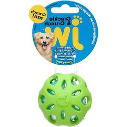 crackle ball dog toy