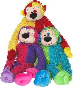 Multi Pet Multi Crew Monkey Assorted Styles /Colors 17in Dog