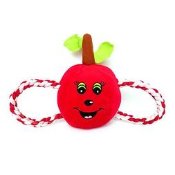 "QINF Cute Apple Shaped with Figure ""8"" Rope Plush Toy for s"