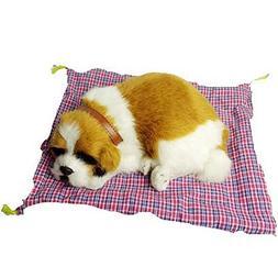 PANDA SUPERSTORE Cute Home&Car High Simulation Dog Cat Toy D