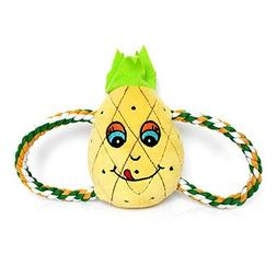 "QINF Cute Pineapple Shaped with Figure ""8"" Rope Plush Toy fo"