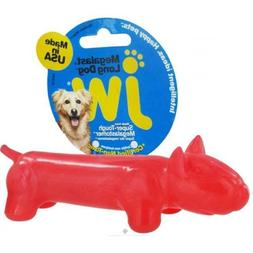 JW Pet Company Darwin the Frog Dog Toy, Small
