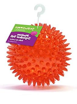 Gnawsome Dental Ball Pet Toy with Squeaker -Cleans Teeth, as