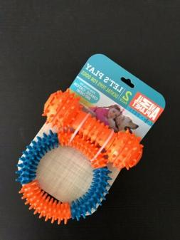 Animal Planet Dental Tug And Toss Dog Toy set 2 piece