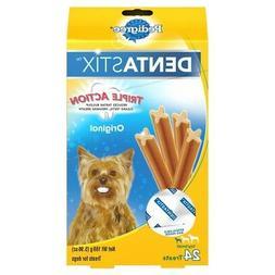 Pedigree Dentastix 24 Mini Treats Small/Toy Dogs  6oz Packag