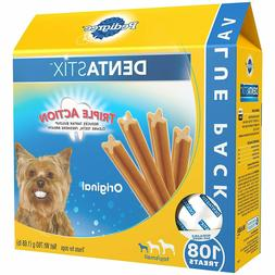Pedigree Dentastix Original Toy/Small Treats For Dogs 1.68 L