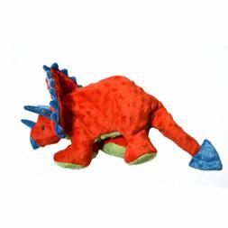 goDog Dinos Triceratops with Chew Guard Technology Plush Squ