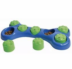 Dog Bone Treat Game Interactive Food Dispensing Game Puzzle