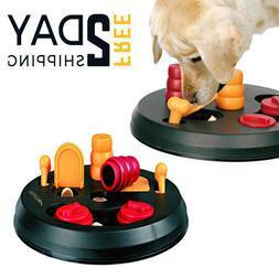 Dog Cat Flip Board Activity Interactive Toy Treat Brain Puzz