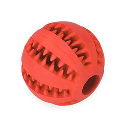 JamHooDirect Dog Chew Toy Balls Durable Soft Rubber Non Toxi